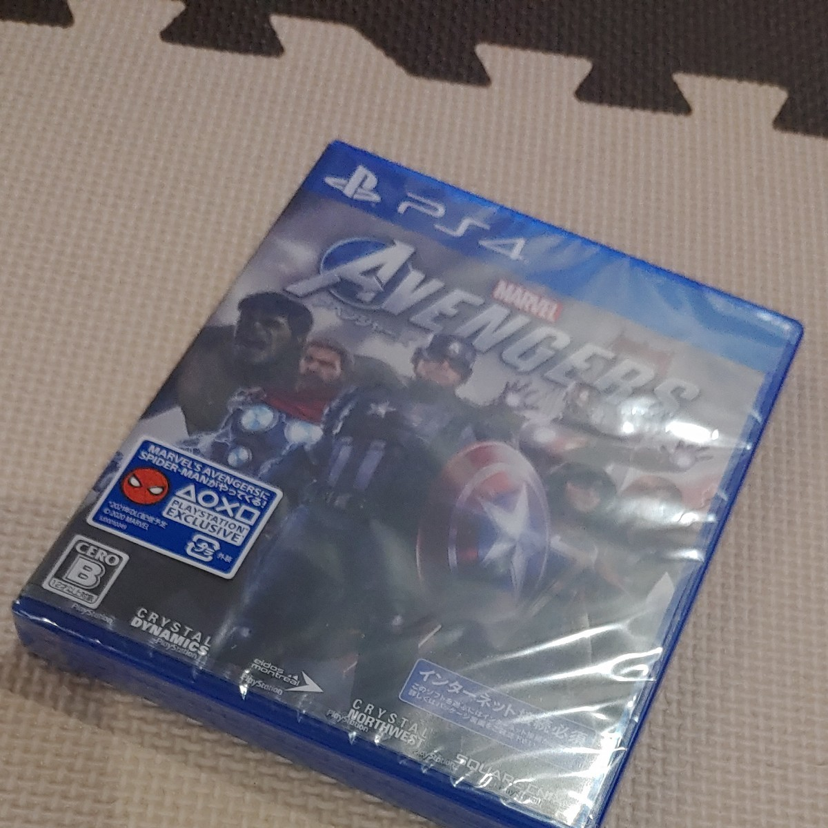 PS4アベンジャーズ  PS4ソフト