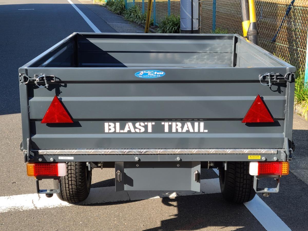 「★☆新品!即決!アウトドアに!キャンプに!荷物運搬に 便利! ブラストトレーラー BLAST-FARM T-33!連結検討書付き!☆★」の画像3