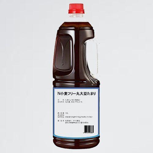 新品 未使用 小麦フリ- 半田の旨味家 8-9B 単品 化学調味料無添加 丸大豆 たまり醤油 グルテンフリ- 小麦不使用 1.8L_画像1