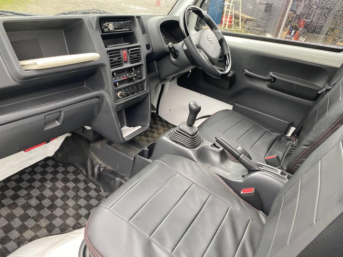 「キャリイトラック カスタム KX 上級グレード 4WD切替 デフロック5速MT 車検4年10月 DA16T 現行モデル キャリー」の画像2