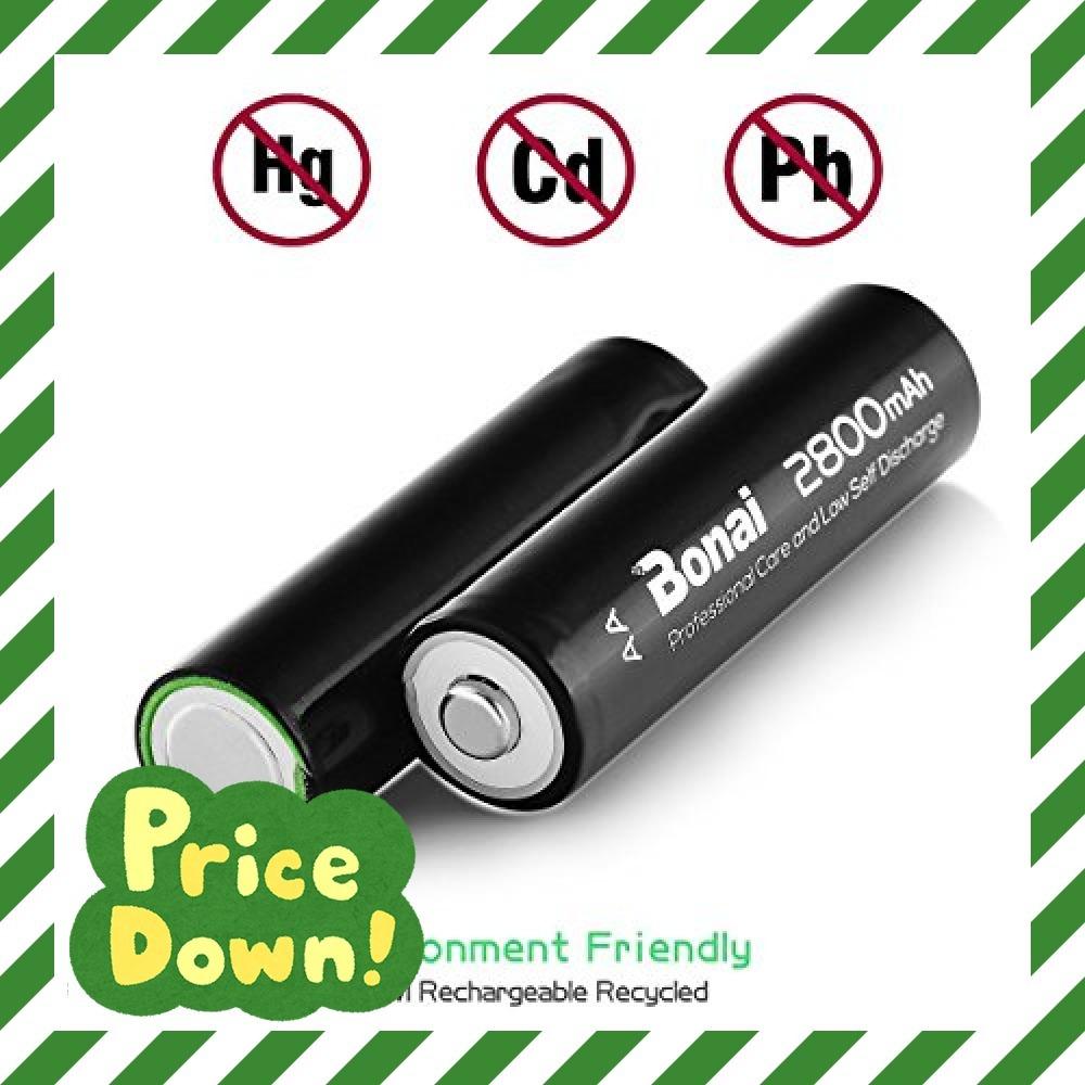 8個パック 単3 充電池 BONAI 単3形 充電池 充電式ニッケル水素電池 8個パック(超大容量2800mAh 約1200回使_画像4