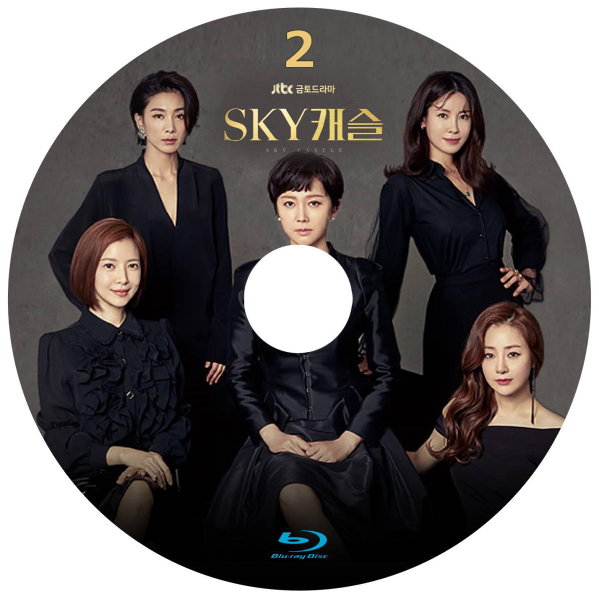 SKYキャッスル Blu-ray版 (2枚SET)《日本語字幕あり》 韓国ドラマ