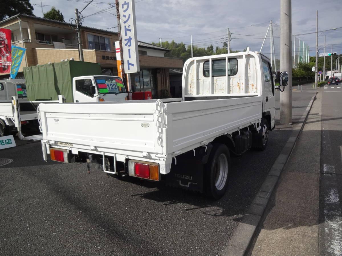 「013☆ エルフT フルフラットロー 2t 5F 4.8D 都条例適合 準中型免許」の画像3