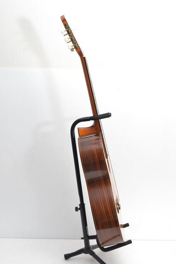 L175R51Z//松岡良治 RYOJI MATSUOKA No.20 クラシックギター ガットギター 国産 弦楽器 ハードケース付き_画像2