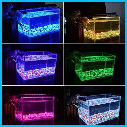 Varmhus 水槽ライト 水槽用照明 アクアリウムライト LED熱帯魚ライト タイマー付き 4/8/12H/定時 日出日没機能 観賞魚飼育 水草育成_画像2