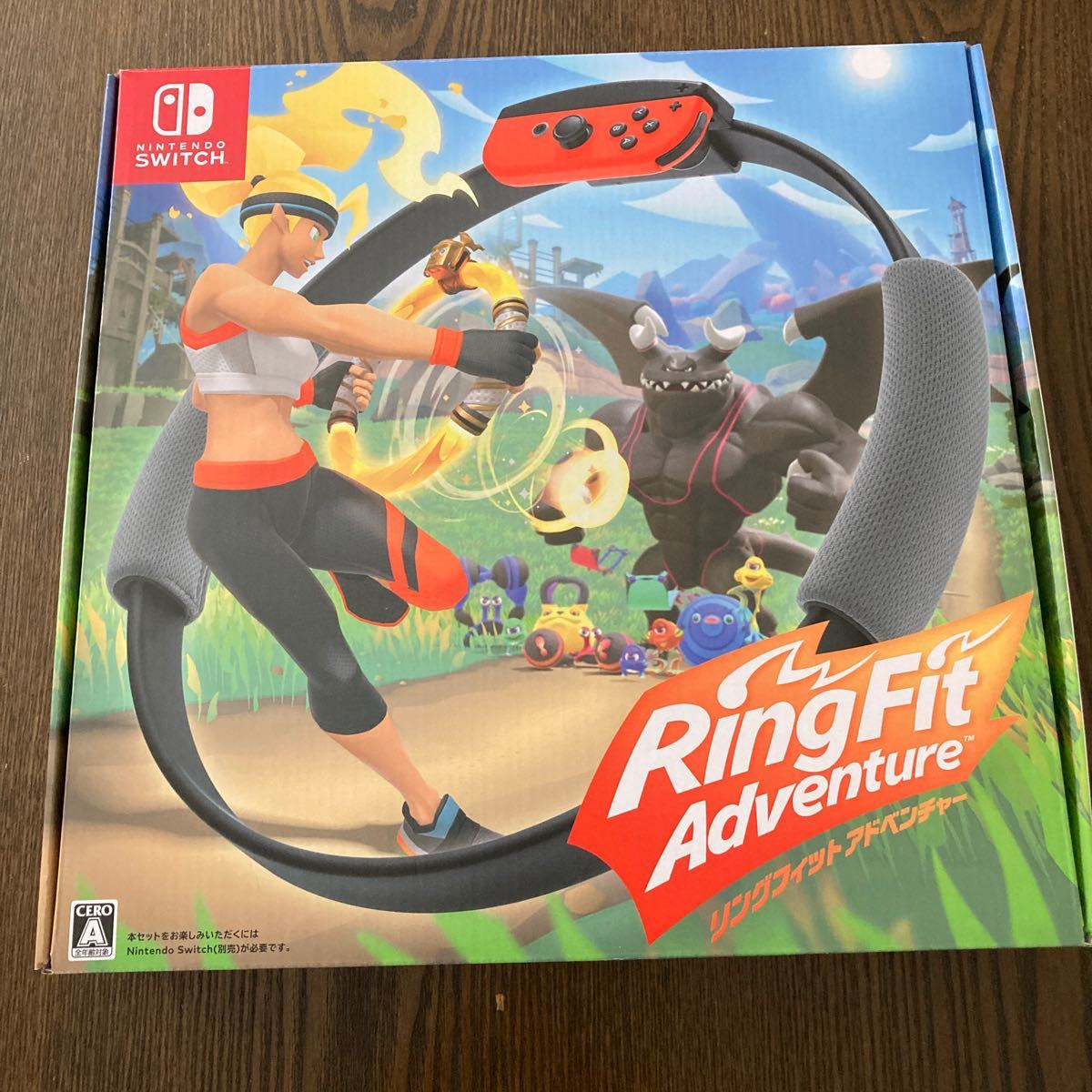 リングフィットアドベンチャー  Nintendo Switch ニンテンドースイッチ