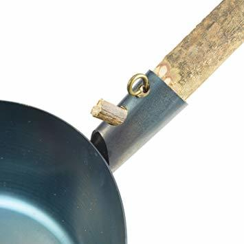 シルバー Bush Craft(ブッシュクラフト) たき火フライパン 深め 10-03-orig-0006_画像2
