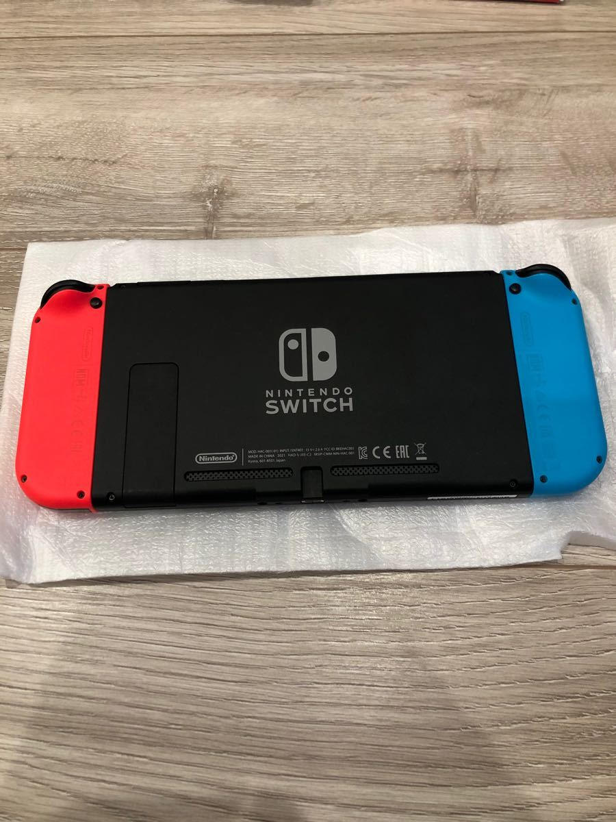 Nintendo Switch ニンテンドースイッチ本体 ネオンレッド ネオンブルー 任天堂スイッチ
