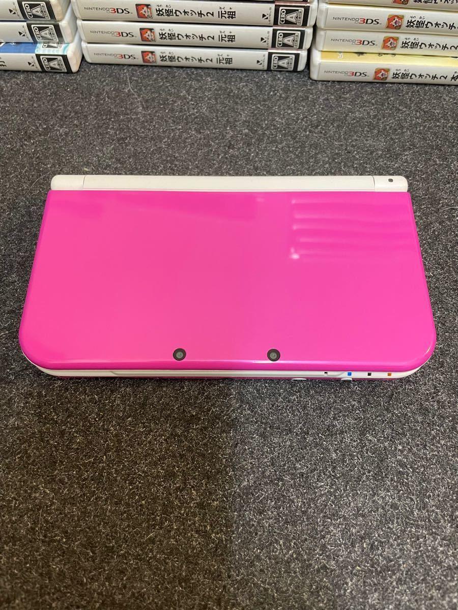 【動作確認済み】Newニンテンドー3DS LL ピンク ホワイト