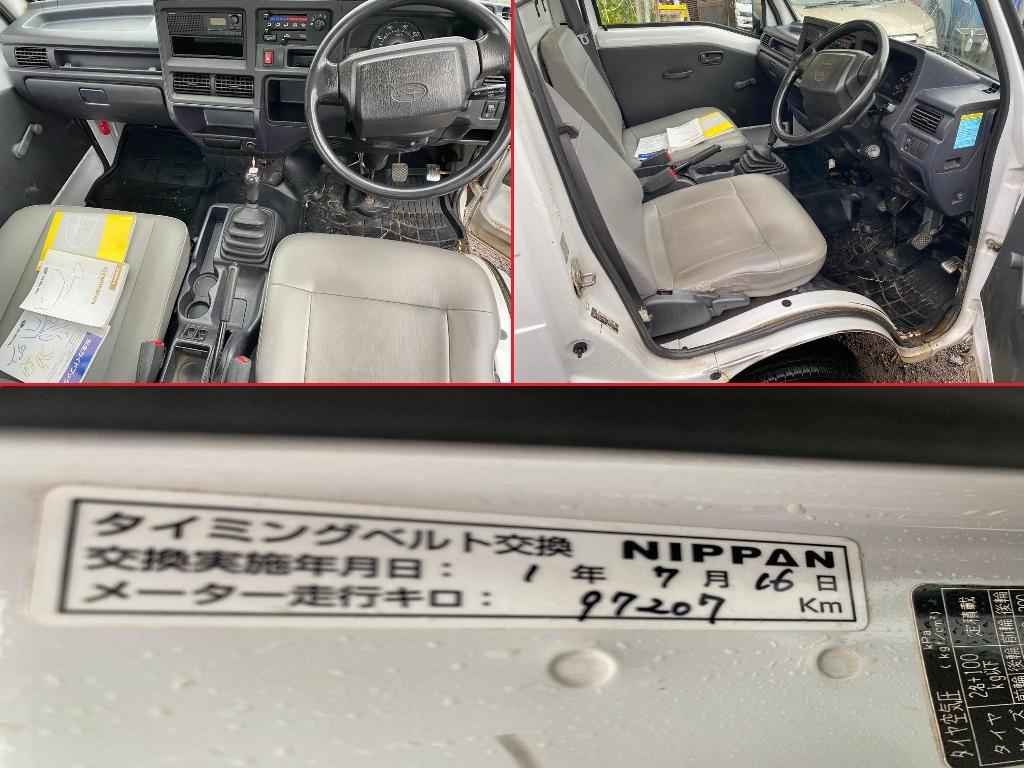 「H23年◆スバル サンバートラック* エアバッグ*エアコン*パワステ*車検令和5 年8月23日*EL*5速マニュアル* 4WD* 走行 121270KM (TT2 )」の画像1