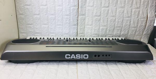 CASIO カシオ 電子キーボード 73鍵盤 光ナビゲーション シルバー 電子ピアノ LK-80 電池での動作確認済 I-21090415_画像6