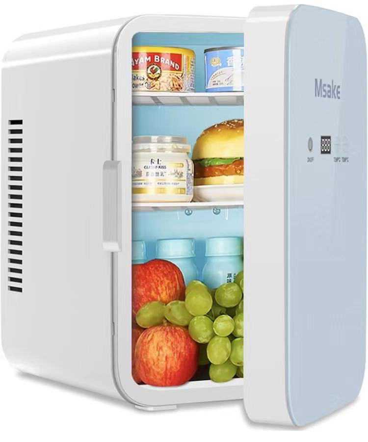 ミニ冷温庫 10L ポータブル保温保冷用 0℃~60℃温度調節可 ワンタッチ操作