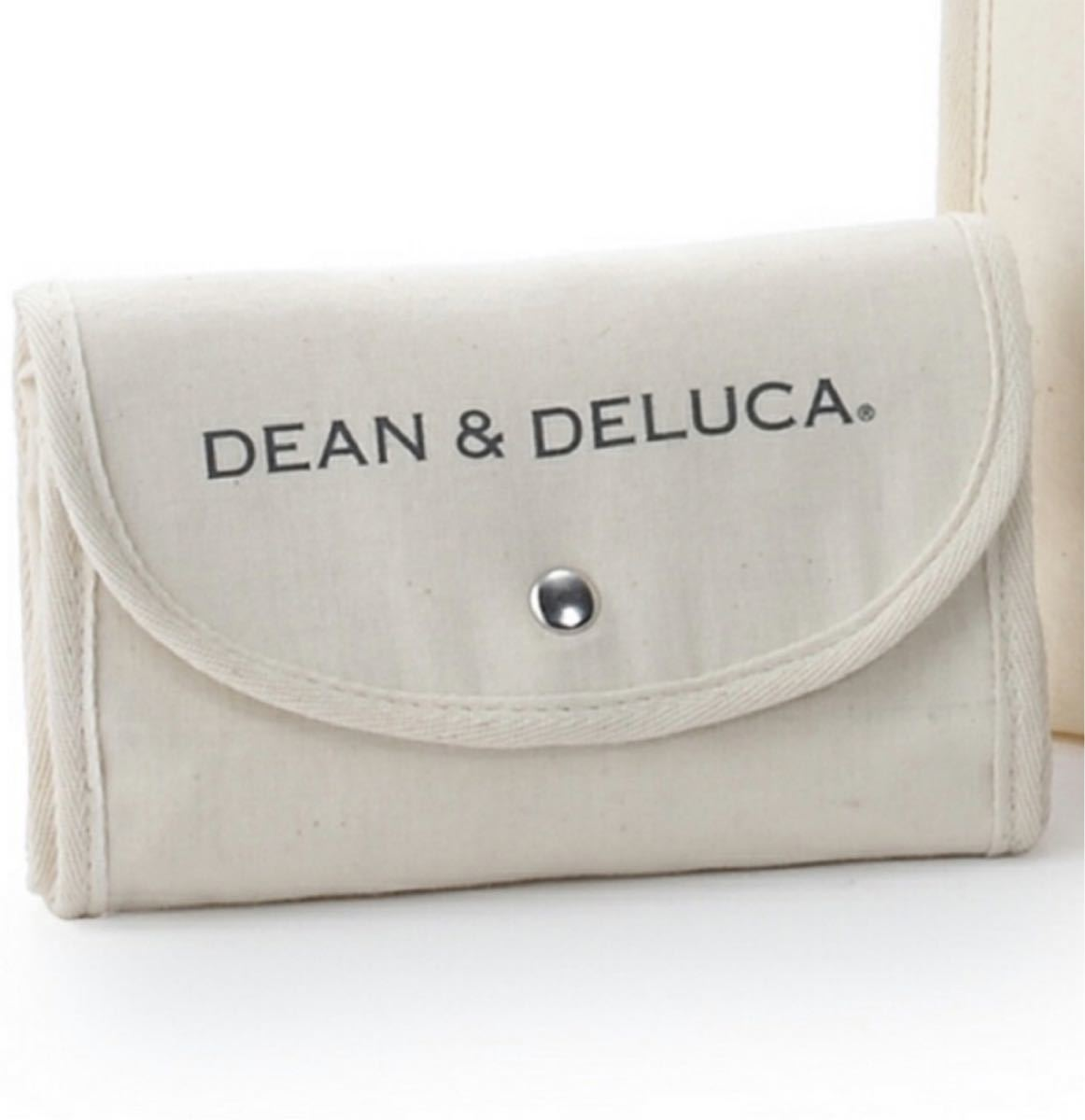 DEAN&DELUCA エコバッグ ナチュラル  ショッピングバッグ ディーン&デルーカ ディーンアンドデルーカ トートバッグ