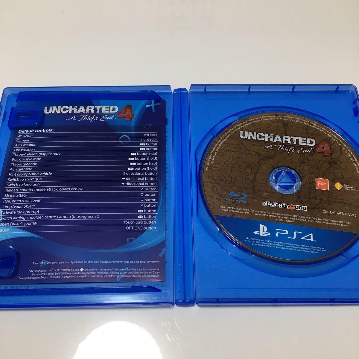 アンチャーテッド海賊王と最後の秘宝 PS4ソフト海外版