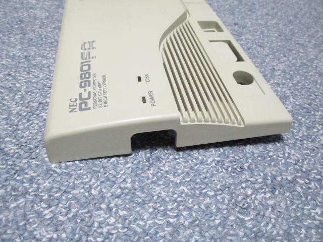 PC-9801FAのフロントカバー_画像6