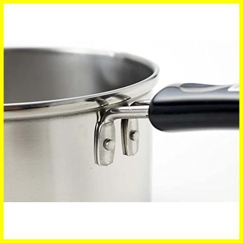 パール金属 ミルクパン 13cm IH対応 ステンレス デイズキッチン 日本製 H-5171_画像4