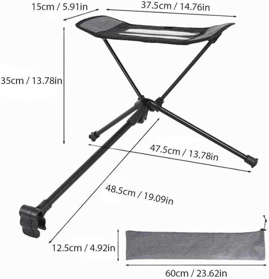 アウトドア キャンプ チェア 足置き フットレスト 人をダメにする椅子