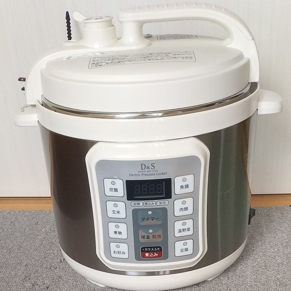 家庭用マイコン電気圧力鍋 D&S 4L