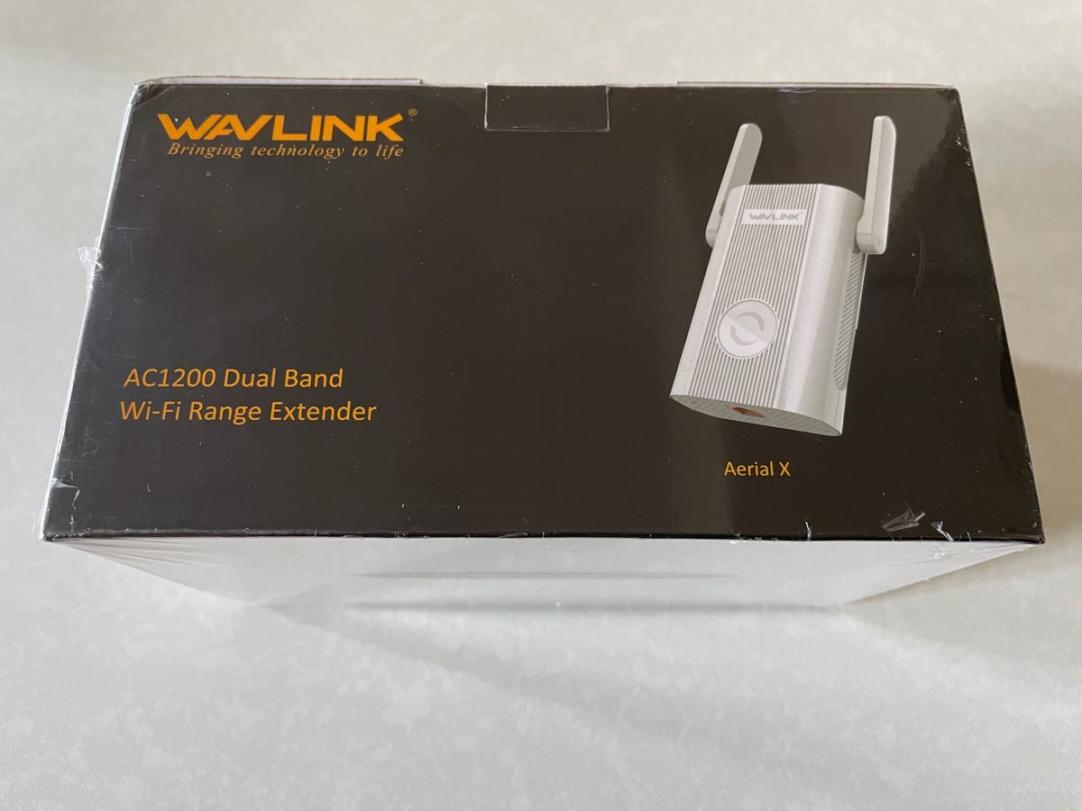 WAVLINK WiFi 無線LAN WiFi中継器 AC1200 ブリッジ デュアルバンド 有線LAN付き コンセント直挿し