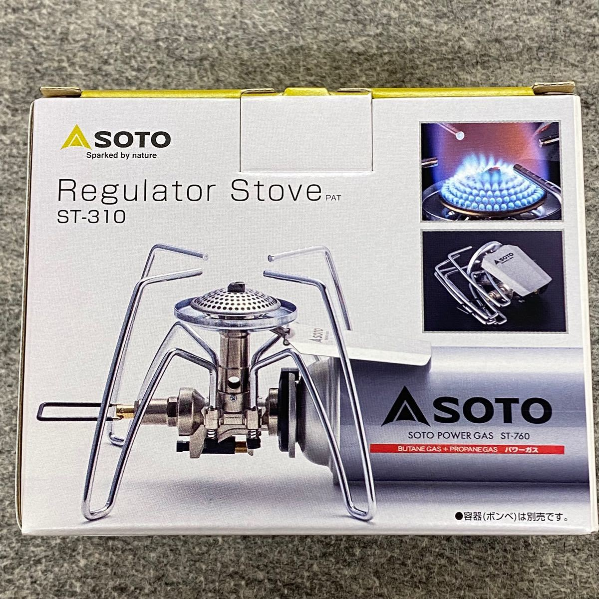 SOTO 新富士バーナー SOTO 新富士バーナー レギュレーターストーブ ST-310 新富士バーナー