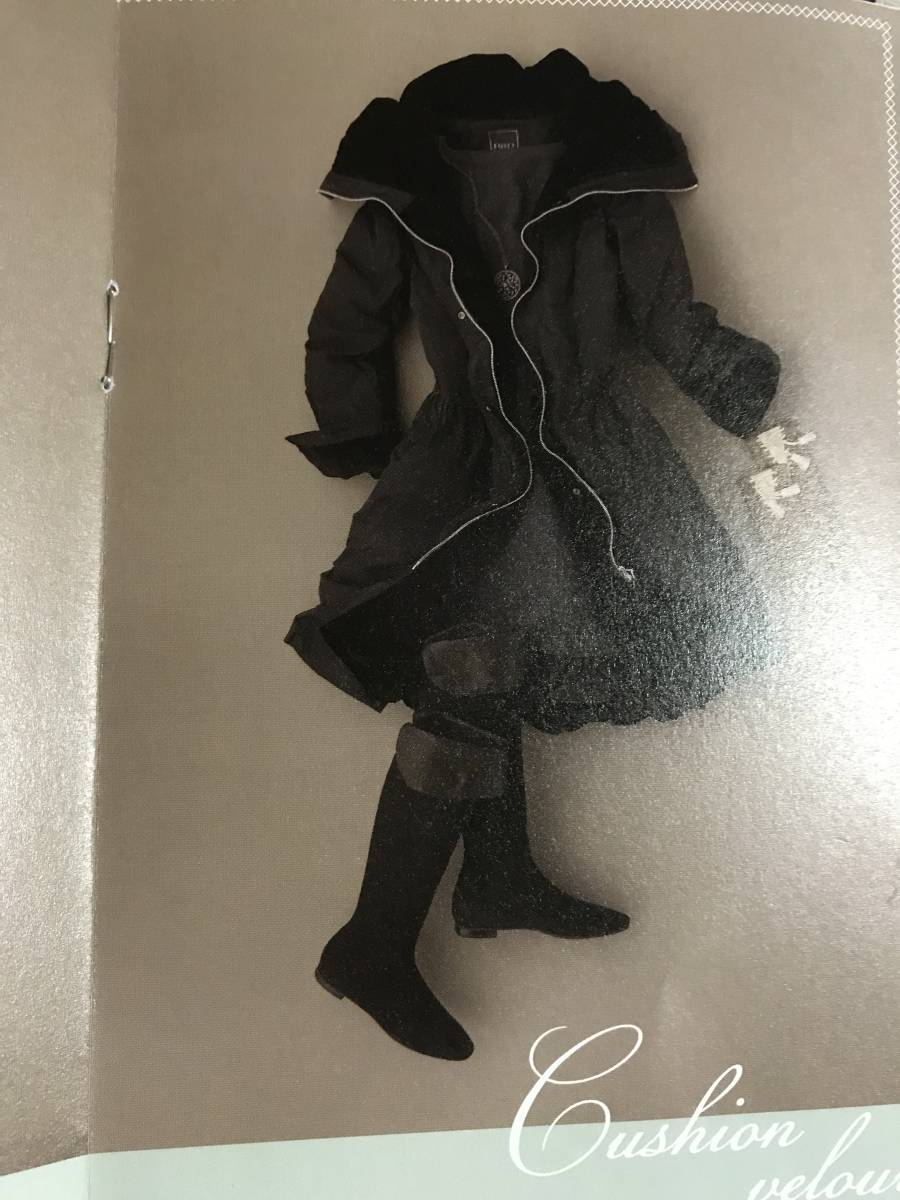FOXEY クッションベロアカラー ダウンコート ブラック 40サイズ フォクシー_画像1