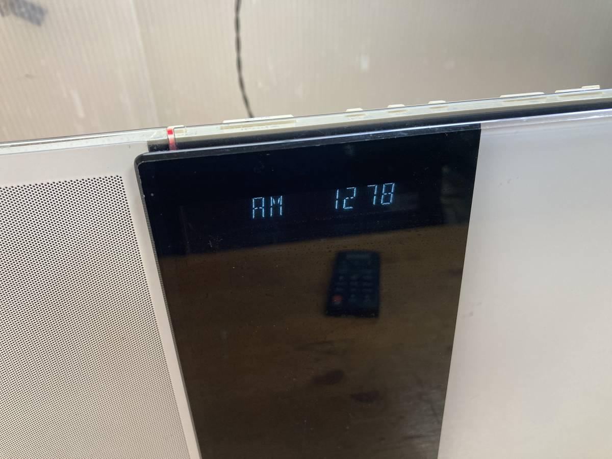 Panasonic パナソニック D-dock CD コンパクト ステレオ システム コンポ SC-HC37 純正リモコン付_画像4