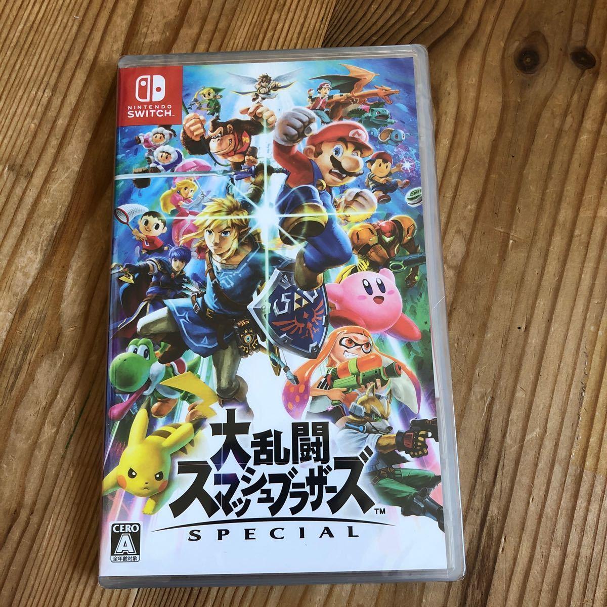 大乱闘スマッシュブラザーズSPECIAL Nintendo Switch Switch ニンテンドースイッチソフト