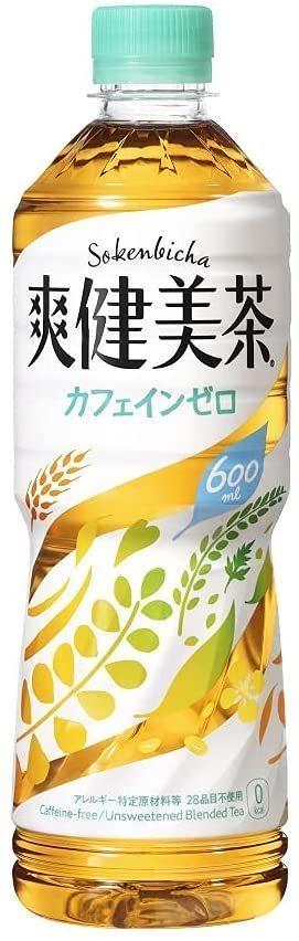 新品★▽ コカ・コーラ 爽健美茶 600ml PET × 24本_画像1