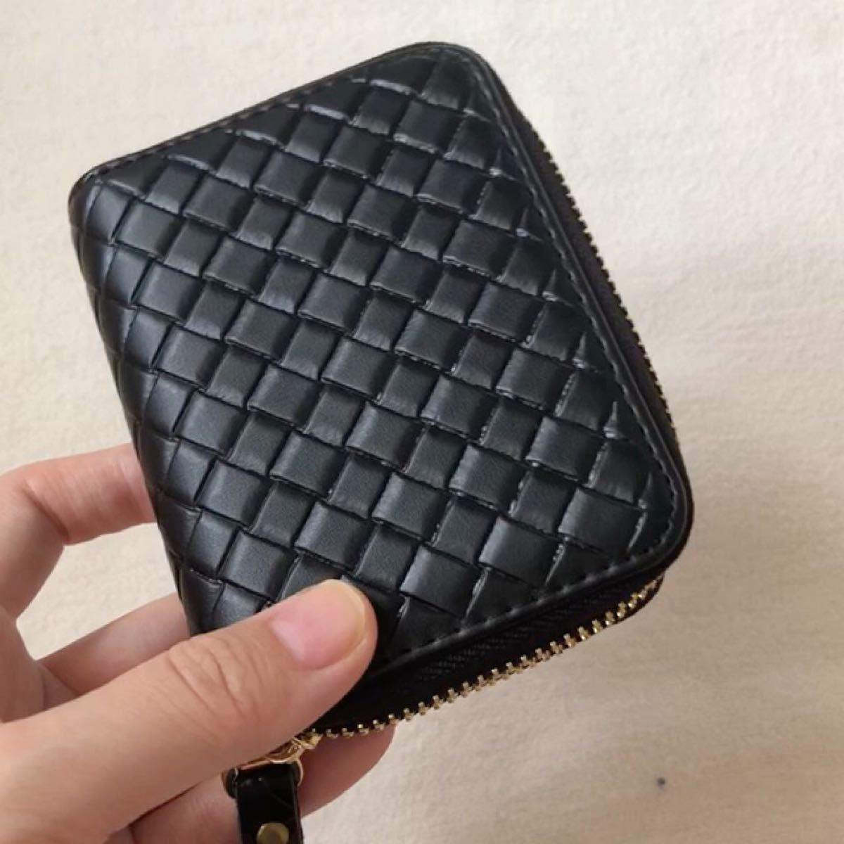 【新品】 高級感 カードケース 名刺入れ 小銭入れ男女兼用ミニ財布