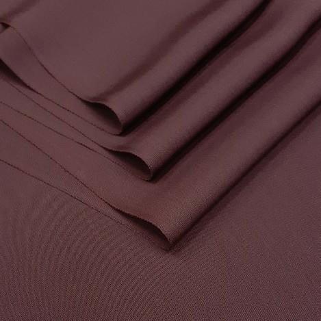 正絹 90103 あずき色 赤紫色 薄手 無地 八掛 シルク190cm はぎれ ハギレ リメイク ハンドメイド