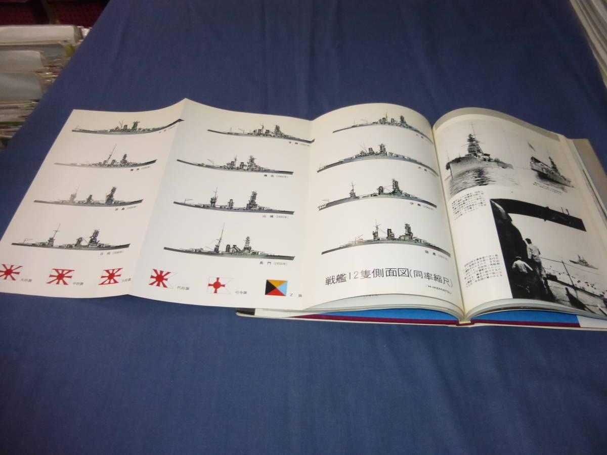 「写真集 日本の戦艦」日本戦艦12隻の栄光と悲劇の生涯 1976年・帯付 大和・武蔵・霧島・日向・扶桑 光人社 季刊・丸 _画像8