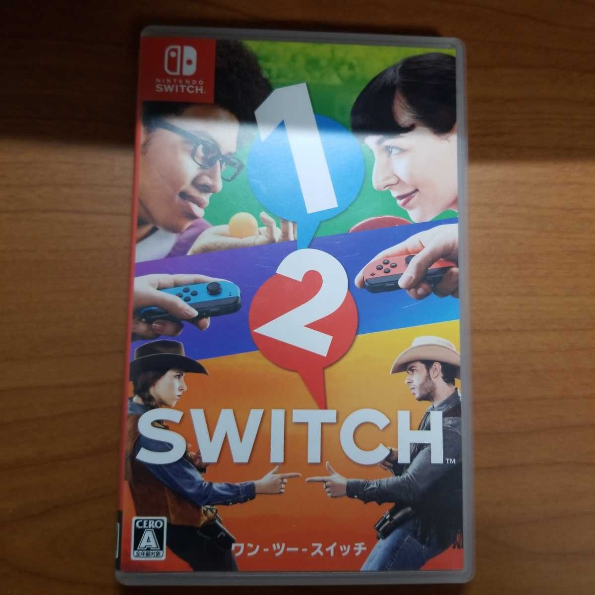Switch 1-2-Switch Nintendo Switch ワンツースイッチ Nintendo ワン・ツー・スイッチ ニンテンドースイッチ ソフト 送料無料