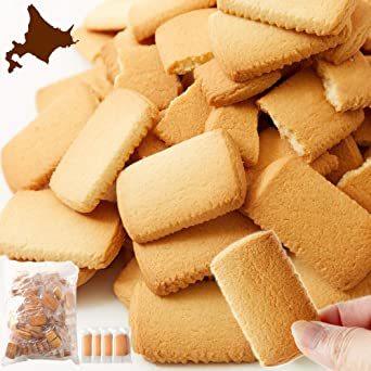 天然生活 北海道バタークッキー 国産 どっさり 訳あり お徳用 個包装 大容量 500g 焼き菓子 ギフト_画像1