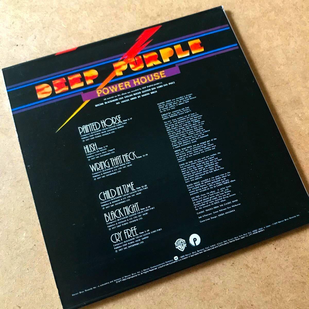 ◆《限定盤》◆ ◇DEEP PURPLE ディープ・パープル◇◆/パワー・ハウス◇◆国内盤紙ジャケ特別企画 CD