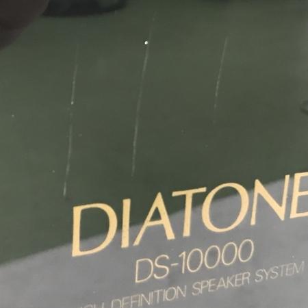 【引取限定】DIATONE DS-10000 ペアスピーカー 音響機材 ディアトーン 訳有 直 Y5910115_画像3