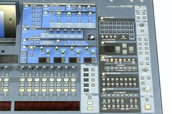 【引取限定】 YAMAHA DM2000 Ver.2 デジタル ミキサー オーディオ ヤマハ 中古 直 T5866229_画像6