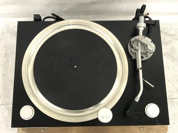 【引取限定】YAMAHA GT-2000 ターンテーブル DENON DL-103R MC型カートリッジ 付 レコードプレイヤー ジャンク 直 N5796715_画像9