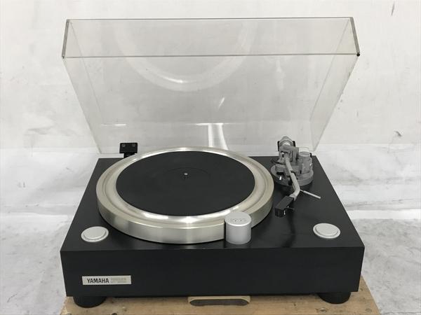 【引取限定】YAMAHA GT-2000 ターンテーブル DENON DL-103R MC型カートリッジ 付 レコードプレイヤー ジャンク 直 N5796715_画像3