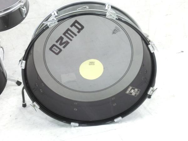 REMO Legero Acoustic R コンパクトドラム タムタム バスドラム フロアタム 4点セット 中古 M5858410_画像5