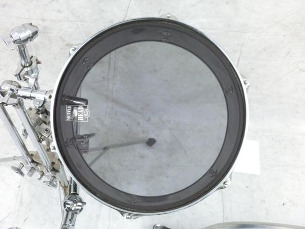 REMO Legero Acoustic R コンパクトドラム タムタム バスドラム フロアタム 4点セット 中古 M5858410_画像4