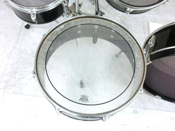 REMO Legero Acoustic R コンパクトドラム タムタム バスドラム フロアタム 4点セット 中古 M5858410_画像2
