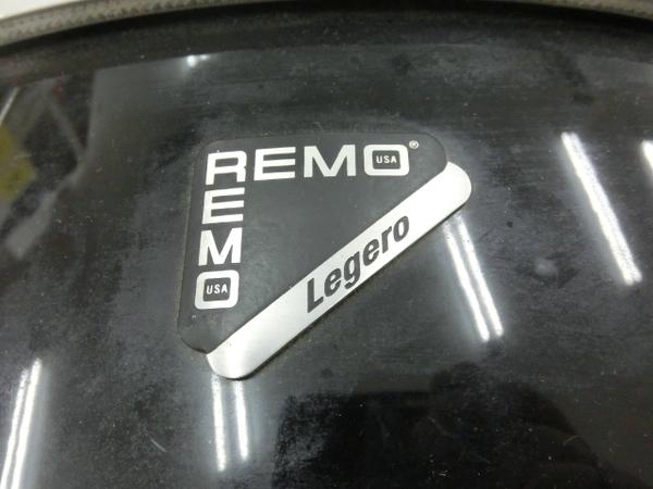 REMO Legero Acoustic R コンパクトドラム タムタム バスドラム フロアタム 4点セット 中古 M5858410_画像6