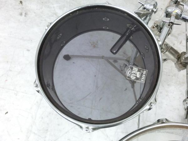 REMO Legero Acoustic R コンパクトドラム タムタム バスドラム フロアタム 4点セット 中古 M5858410_画像3