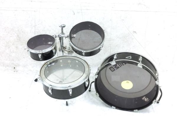 REMO Legero Acoustic R コンパクトドラム タムタム バスドラム フロアタム 4点セット 中古 M5858410_画像1
