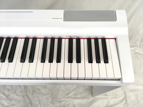 【引取限定】 YAMAHA P-125 電子ピアノ 88鍵 2019年製 ヤマハ ジャンク 直 W5784648_画像4