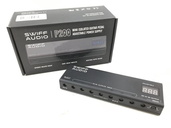 SWIFF AUDIO P200 パワーサプライ スイフオーディオ ギター エフェクター 中古 美品 H5893169_画像1