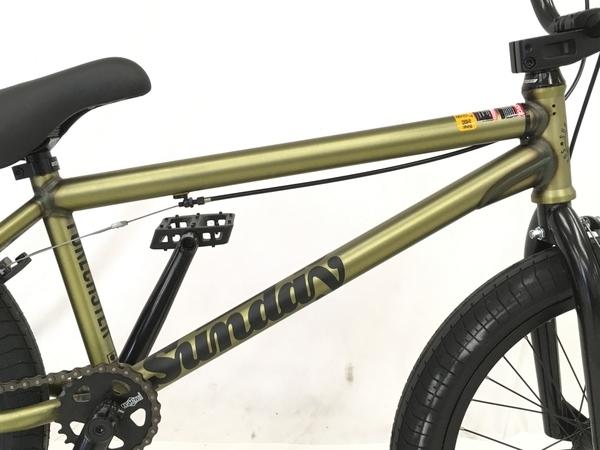 Sunday 2021 FORECASTER Matte Trans Gold BMX 中古 楽直 W5885825_画像7