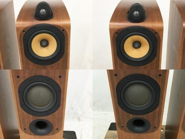 【引取限定】B&W Bowers & Wilkins 704 トールボーイ スピーカー ペア オーディオ 音響機器 中古 直W5910429_画像2