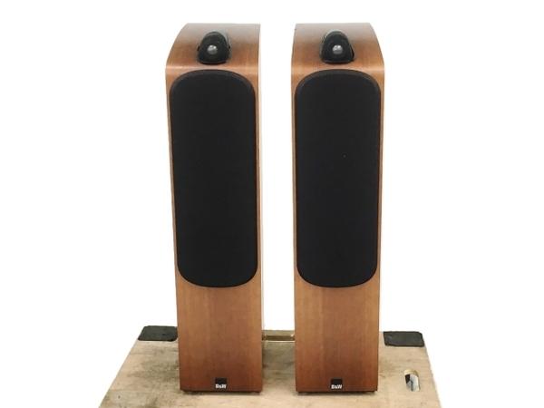 【引取限定】B&W Bowers & Wilkins 704 トールボーイ スピーカー ペア オーディオ 音響機器 中古 直W5910429_画像1