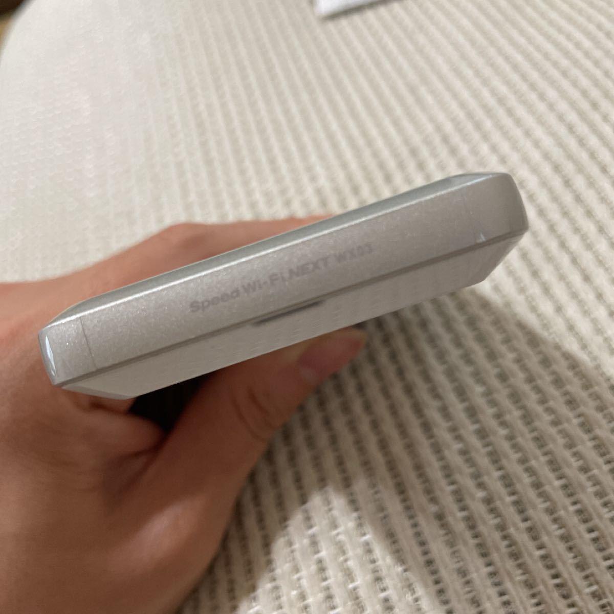 Speed Wi-Fi NEXT WX03 ポケットWi-Fi